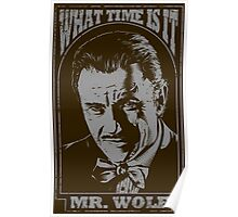 Mr. Wolf Pulp Fiction Movie Quote Poster