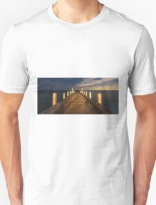 Oliver's Hill Jetty, Frankston Unisex T-Shirt