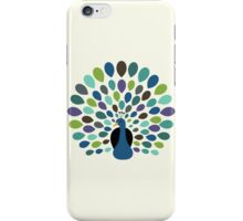 Peacock Time iPhone Case/Skin