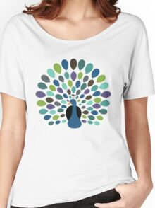Peacock Time Women's Relaxed Fit T-Shirt