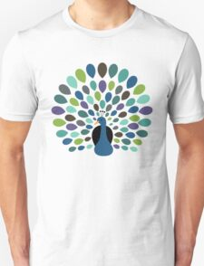 Peacock Time Unisex T-Shirt