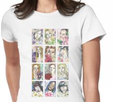 The Flower Girls Womens Fitted T-Shirt