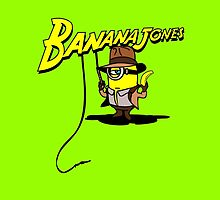 BANANA JONES TECHNICOLOR by karmadesigner