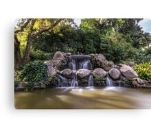 Water Fountain in Melbourne Canvas Print