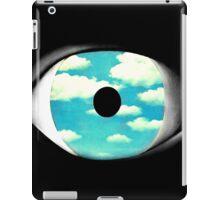 "Optimistic ""false"" mirror iPad Case/Skin"