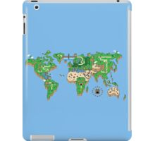 Mario World Map iPad Case/Skin
