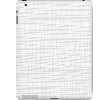 Unique abstract pattern of lines and squares iPad Case/Skin