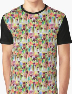 Tryst -  Cropped Detail Graphic T-Shirt