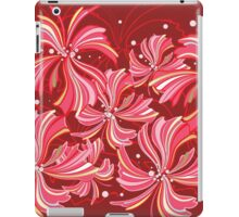 Flowers, Petals, Blossoms - Red iPad Case/Skin