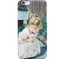 When Time Stops for a Moment - Wonderment iPhone Case/Skin