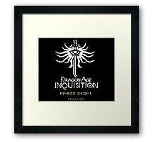 8-Bit Inquisition Framed Print