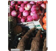 Vegetables and Fruit in Otavalo iPad Case/Skin