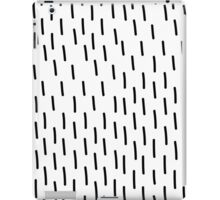 unique abstract pattern of lines and in Doodle style iPad Case/Skin
