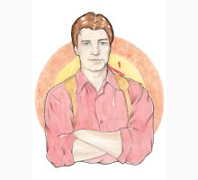 Watercolour Fanart Illustration of Malcolm 'Mal' Reynolds from Joss Whedon's Firefly Unisex T-Shirt