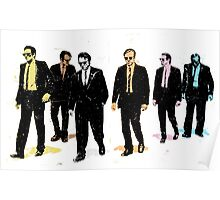 Colourful Reservoir Dogs Movie Quote Poster