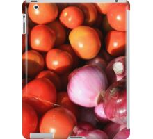 Tomatoes Onions and Peppers iPad Case/Skin
