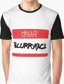 Hello, My Name Is Blurryface Graphic T-Shirt