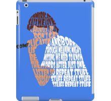 """Bo Burnham """"Repeat Stuff"""" quote envelope mesh iPad Case/Skin"""