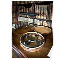 Dunham Massey -Library-Compass Poster