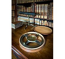 Dunham Massey -Library-Compass Photographic Print