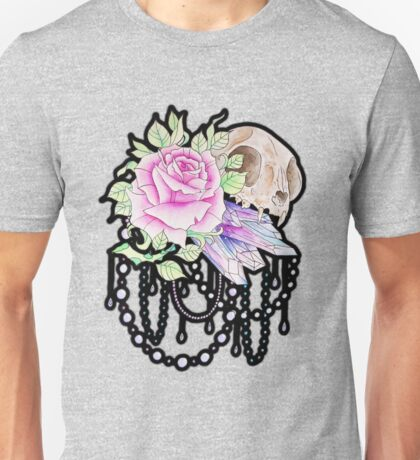 Cat and Crystal Unisex T-Shirt