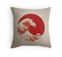 Hokusai - pillow Throw Pillow