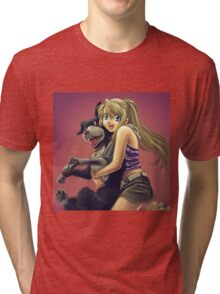 Winry and Den Tri-blend T-Shirt