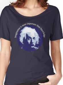 Einstein Quote Women's Relaxed Fit T-Shirt