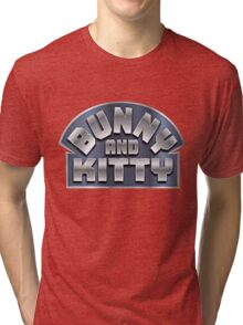 Bunny and Kitty Tri-blend T-Shirt