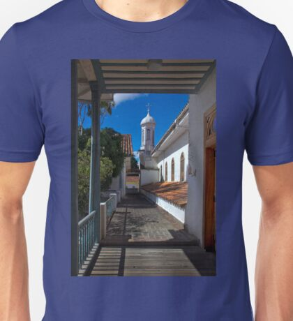 Upper View From the Medical Museum In Cuenca Unisex T-Shirt