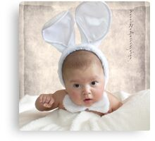 Easter Baby Canvas Print