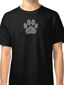 Black Paw Ink Style Classic T-Shirt