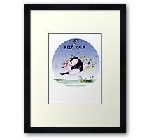 New Zealand Rugger, tony fernandes Framed Print