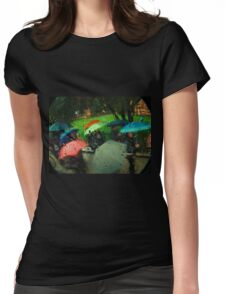 Umbrellas Of Verona Womens Fitted T-Shirt