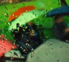 Umbrellas Of Verona Sticker
