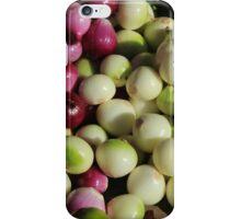 Onions and Naranjilla at the Market iPhone Case/Skin
