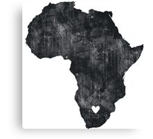 I Love South Africa Canvas Print
