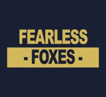 "Team Leicester: ""Fearless Foxes"" (light shades) Kids Tee"
