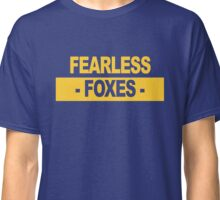 "Team Leicester: ""Fearless Foxes"" (light shades) Classic T-Shirt"
