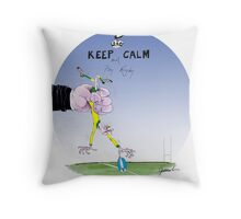 kiwi Rugby, tony fernandes Throw Pillow