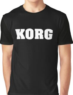 Korg White Graphic T-Shirt
