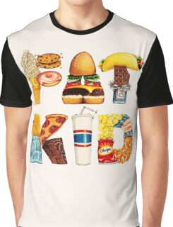 FAT KID Graphic T-Shirt
