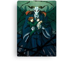 The Bride of Thorns Canvas Print