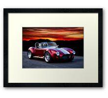 1966 Shelby Cobra Roadster Framed Print