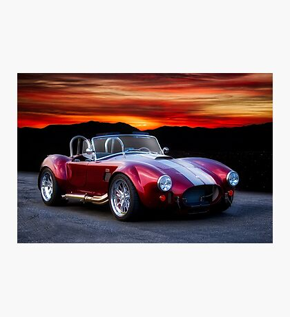 1966 Shelby Cobra Roadster Photographic Print