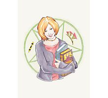Watercolour Fanart Illustration of Willow Rosenberg from Joss Whedon's Buffy The Vampire Slayer Photographic Print