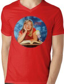Lizzie McGuire circle Mens V-Neck T-Shirt