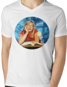 Lizzie McGuire circle Mens V-Neck T-Shirt