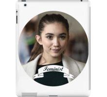 Rowan Blanchard Feminist Circle iPad Case/Skin