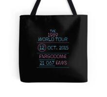 12th October - Fargodome Tote Bag